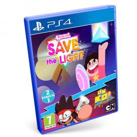 Steven Universe: Salva La Luz + ¡OK K.O.! Quiero Ser Un Heroe PS4 (SP)