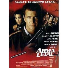 Arma Letal 4 DVD