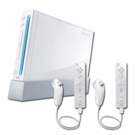 Pack: Wii + 2 Wiimote + 2 Nunchuk
