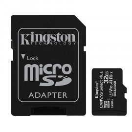 Memoria Kingston Canvas SDCS2 MicroSDHC + Adp. SD 32GB