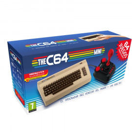 The C64 Mini + 64 juegos + Joystick A