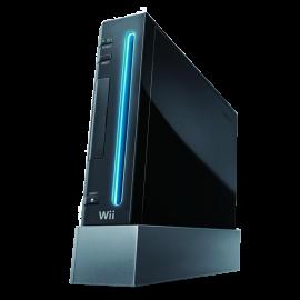 Wii Negra (Sin Mando)