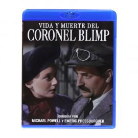 Vida y Muerte del Coronel Blimp BluRay (SP)