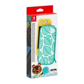 Set Accesorios Animal Crossing (Funda + Protector de pantalla) para Nintendo Switch Lite