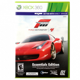 Forza Motorsport 4 Essentials Edition Xbox360 (UK)