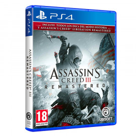 Assassins Creed III Remastered PS4 (SP)