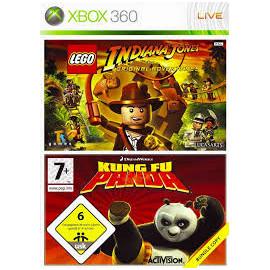 Indiana jones/ kun fu panda Xbox360 (SP)