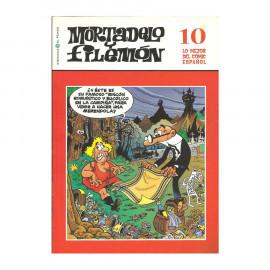 Comic Tapa Blanda Mortadelo  y Filemon  10