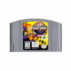 Starshot Space Circus fever N64