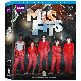 Misfits Temporada 1 (6 Cap) BluRay (SP)