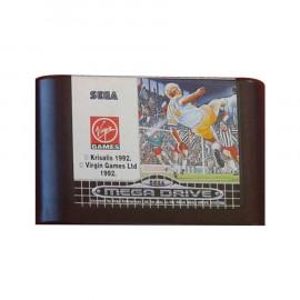European Club Soccer Mega Drive