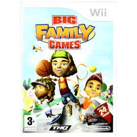 Big Family Games WII (SP)