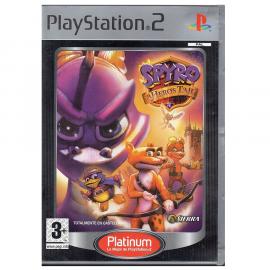 Spyro A Hero's Tail Platinum PS2 (SP)