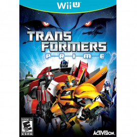 Tranfsormers Prime The Game Wii U (SP)
