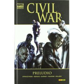 Comic Marvel Deluxe Civil War Preludio Panini