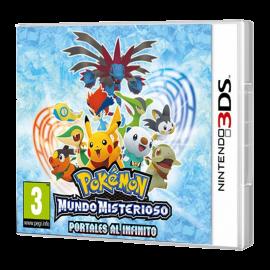 Pokemon Mundo Misterioso Portales al Infinito 3DS (SP)