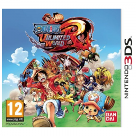 One Piece Unlimited World Red 3DS (SP)