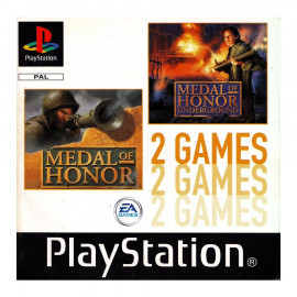 Medal of Honor + Medal of Honor Underground PSX (SP)