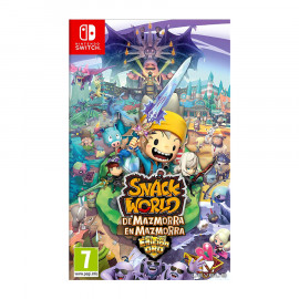 Snack World: De Mazmorra en Mazmorra Edicion Oro Switch (SP)
