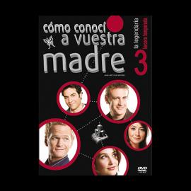 Como conoci a vuestra madre Temporada 3 (20 Cap) DVD