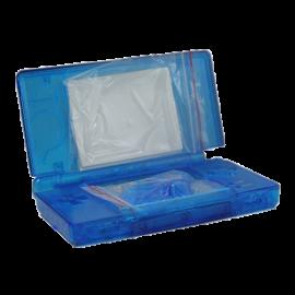 Carcasa Completa Azul Transparente NDSi