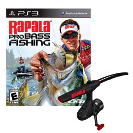 Rapala Pro Bass Fishing + Caña PS3 (SP)