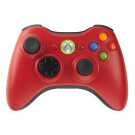 Mando Microsoft Wireless Rojo Xbox360