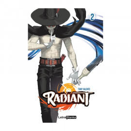 Manga Radiant Letra Blanka 02