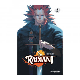 Manga Radiant Letra Blanka 04