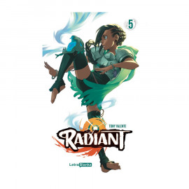 Manga Radiant Letra Blanka 05