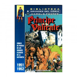 Comic Biblioteca grandes del comic: Principe Valiente Planeta 09