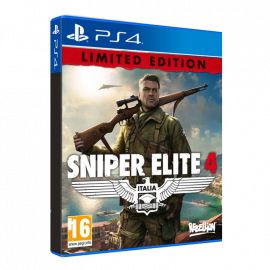 Sniper Elite 4 Limited Edition PS4 (SP)