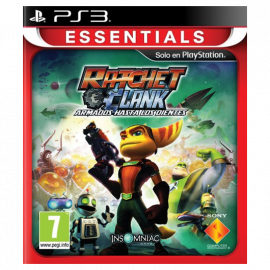 Ratchet & Clank Armados hasta los dientes Essentials PS3 (SP)