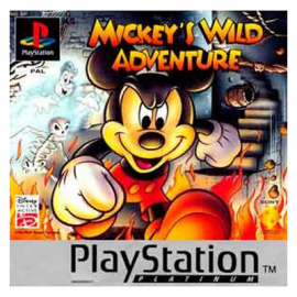 Mickey's Wild Adventure Platinum PSX (SP)
