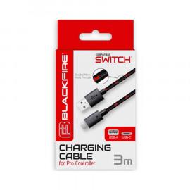 Cable BlackFire USB-Type C para Mando Pro Nintendo Switch