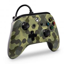 Mando con Cable Power A Camuflaje Xbox One