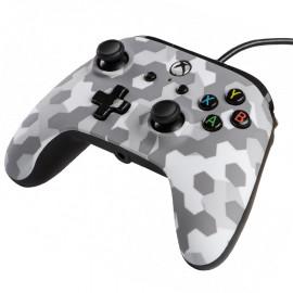 Mando Con Cable Power A Artic Frost Camo Xbox One