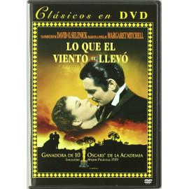 Lo Que El Viento Se Llevo DVD