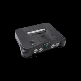 Nintendo 64 Negra