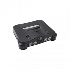 Nintendo 64 Negra (Sin Mando)