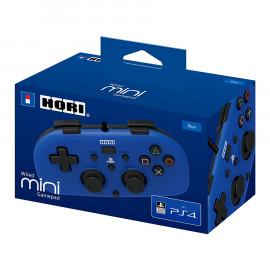 Mando Mini Hori con Cable Azul PS4