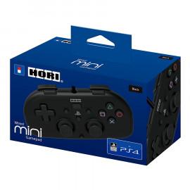 Mando Mini Hori con Cable Negro PS4