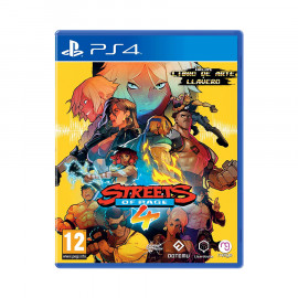 Streets of Rage 4 PS4 (SP)
