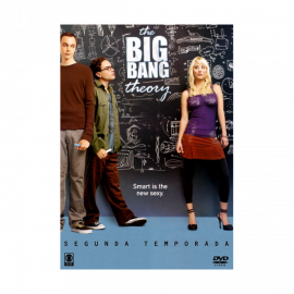 The Big Bang Theory Temporada 2 (23 Cap) DVD