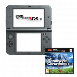 Pack: New Nintendo 3DS XL Negro Metalico + Xenoblade Chronicles