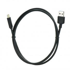 Cable USB Tipo C 3.1 / USB 3.0 Negro Bulk