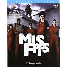 Misfits Temporada 2 (7 Cap) BluRay (SP)