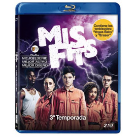 Misfits Temporada 3 (9 Cap) BluRay (SP)