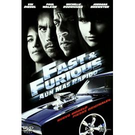 Fast & Furious Aun mas Rapido DVD