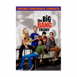 The Big Bang Theory Temporada 3 (23 Cap) DVD